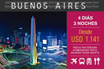 Buenos Aires Argentina 4D 3N